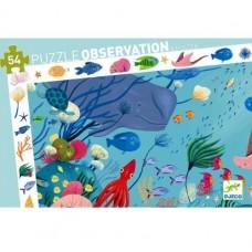 54 pc Djeco - Aquatic Observation Puzzle