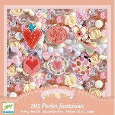 Bead Set - Fancy Hearts - Djeco