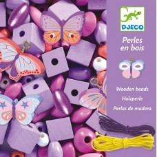 Bead Set - Butterfly Wooden - Djeco