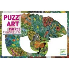 150 pc Djeco - Chameleon Puzzle Art