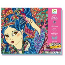 Cherry Tree Girls - Felt Pens - Djeco