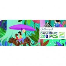 200 pc Djeco Puzzle - Children's Walk