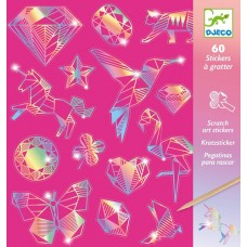 Diamond Scratch Cards - Djeco