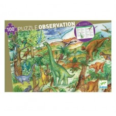 100 pc Djeco - Dinosaur Observation Puzzle