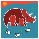 Stencils - Dinosaur - Djeco