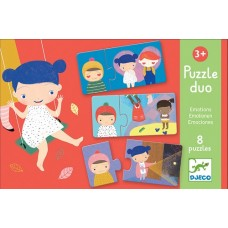 Duo Puzzles 2pc - Emotions - Djeco