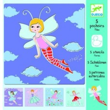 Stencils - Fairies - Djeco