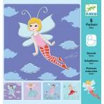 Stencils - Fairy- Djeco *