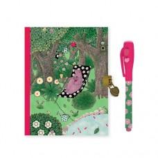 Secret Notebook with Magic Pen - Fanny  - Djeco