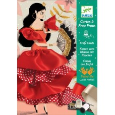 Flamenco Sewing Cards - Djeco