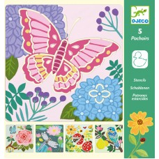Stencils - Garden Wings - Djeco