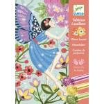 Glitter Art Boards Gentle Life of Fairies - Djeco