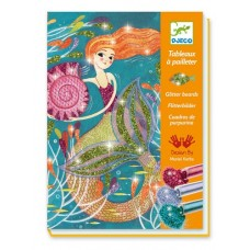 Glitter Art Boards Mermaids - Djeco