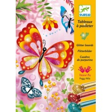 Glitter Art Boards Butterflies - Djeco