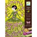Glitter Art Boards Dresses - Djeco
