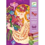 Glitter Art Boards Scents of Flowers - Djeco