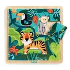Jungle Wooden  Puzzle - Djeco