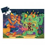 36 pc Djeco Puzzle - Laser Boy - Silhouette Box