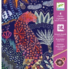 Lush Nature Scratch Cards - Djeco