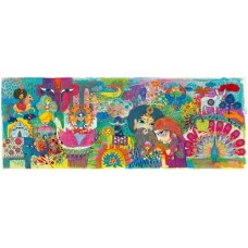 1000 pc Djeco - Magic India  Puzzle
