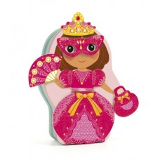 Magnetic Wooden Dressup - Belissiomo Fairy - Djeco
