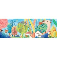 350 pc Djeco Puzzle - Miss Birdy