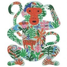 350 pc Djeco Puzzle Art - The Monkey