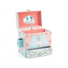 Music Jewellery Box - Ballerina on Stage - Djeco