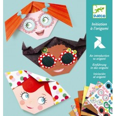 Pretty Faces Origami Set - Djeco