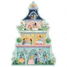 36 pc Djeco Giant Puzzle - The Princess Tower