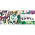 1000 pc Djeco - Rainbow Tiger Puzzle