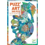 350 pc Djeco Puzzle - Sea Horse Art