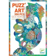 350 pc Djeco - Sea Horse Art Puzzle