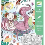 Under the Sea Colouring Surprise - Djeco