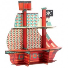 Wooden Shelf - Pirates - Djeco