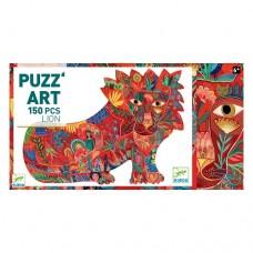 150 pc Djeco Puzzle Art - The Lion