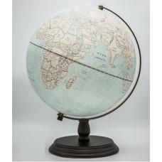 Globe Antique LED 30cm diameter Wooden Base