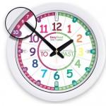 Clock - EasyRead Time Teacher - Rainbow Face