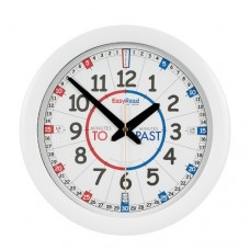 Clock - EasyRead Time Teacher - Red/Blue Face