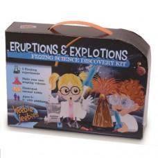 Eruptions & Explosions Fizzing Science Experiment Kit - Heebie Jeebies