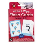 Flashcards Numbers 1-30 - Write & Wipe - Learning Can be Fun