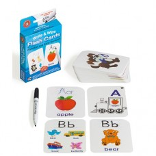 Flashcards Alphabet & Numbers 1-10 - Write & Wipe - Learning Can be Fun