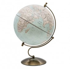 Globe Antique LED 30cm diameter Metal Base