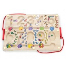 Magnetic Number Tracing - Viga Toys