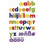 Magnetic Letters - Lower Case - Quercetti