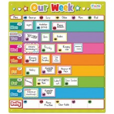 Our Week - Magnetic Organisation Chart