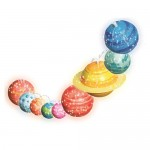 Solar System Lights - STEAM Powered Girls - 4M