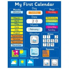 My First Calendar - Magnetic