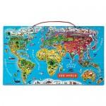 World Map - Magnetic - Janod