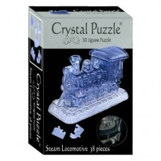 3D Crystal Puzzle - Steam Locomotive